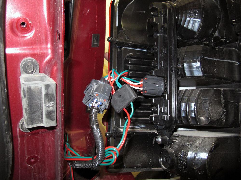 Trailer Wiring Harness Jeep Liberty