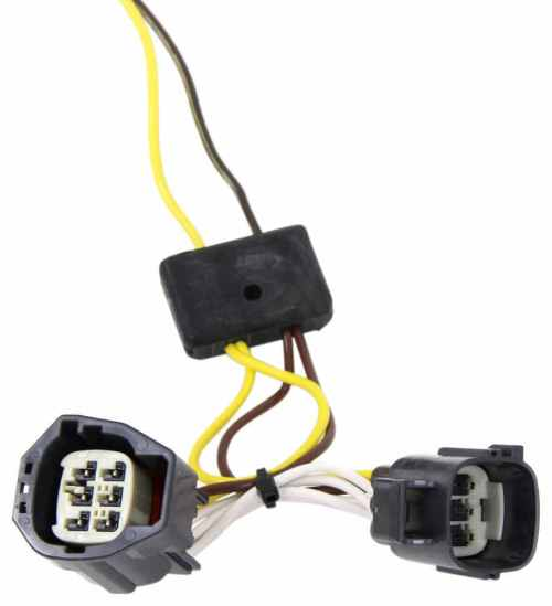 small resolution of dodge nitro t one vehicle wiring harness with 4 pole flat trailer connector