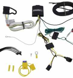 t one vehicle wiring harness with 4 pole flat trailer connector tekonsha custom fit vehicle wiring 118730 [ 1000 x 825 Pixel ]