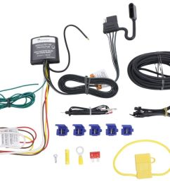 upgraded modulite vehicle wiring harness kit w 4 pole trailer connector and installation kit tekonsha wiring 119147kit [ 1000 x 836 Pixel ]