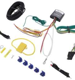upgraded circuit protected modulite with 4 pole flat hardwire kit and circuit tester tekonsha wiring 119179kit [ 1000 x 828 Pixel ]