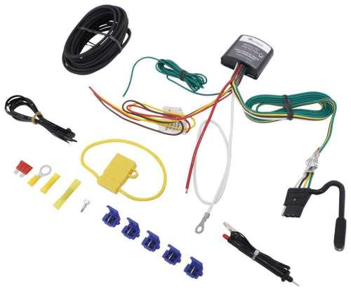 small resolution of upgraded circuit protected modulite with 4 pole flat hardwire kit and circuit tester tekonsha wiring 119179kit
