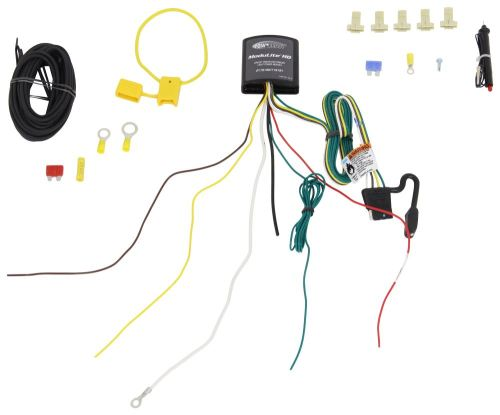 small resolution of upgraded heavy duty modulite circuit protected vehicle wiring harness with install kit tekonsha wiring 119190kit