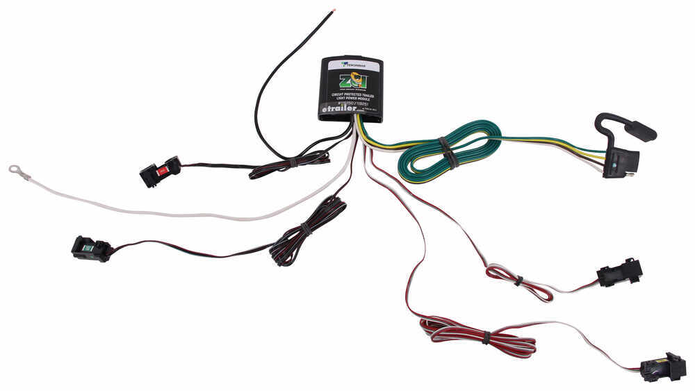 ZCI Circuit Protected Vehicle Wiring Harness w/ 4-Pole