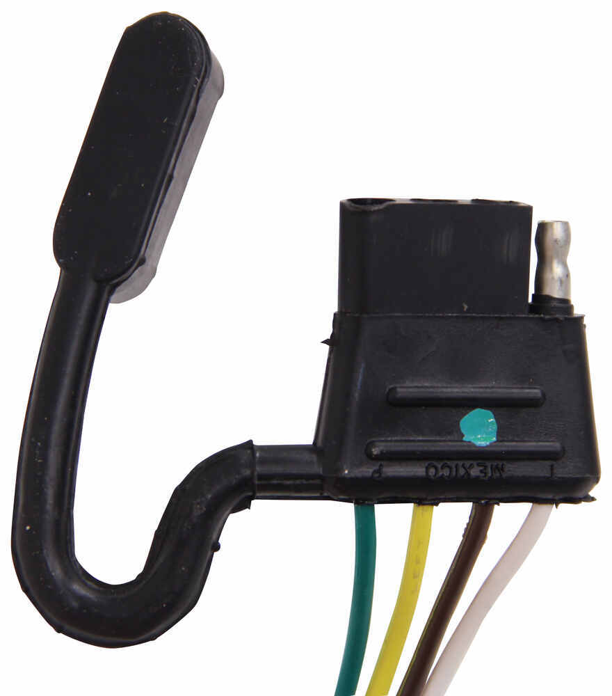 hight resolution of zci circuit protected vehicle wiring harness w 4 pole flat trailer connector and installation kit tekonsha wiring 119250kit