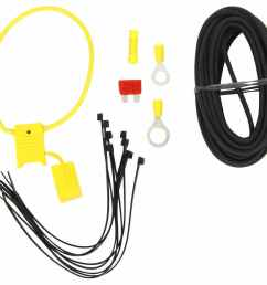 zci circuit protected vehicle wiring harness w 4 pole flat trailer connector and installation kit tekonsha wiring 119250kit [ 1000 x 899 Pixel ]