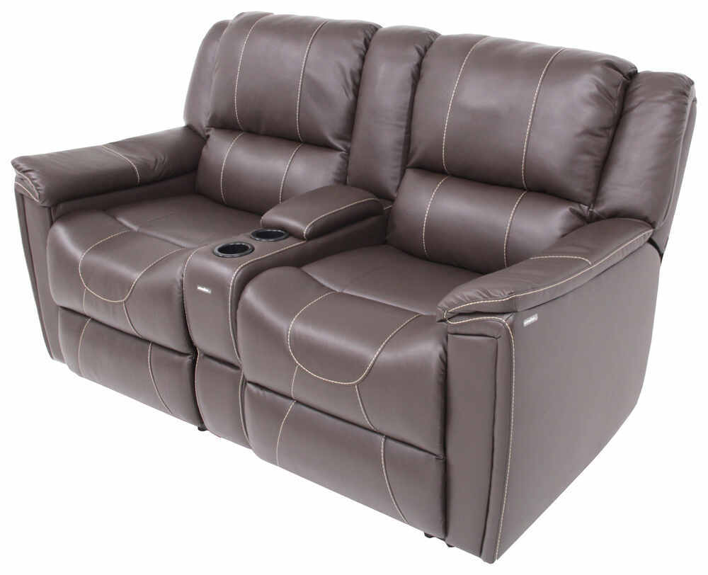 dual reclining rv sofa le corbusier wikipedia thomas payne w/ center console ...
