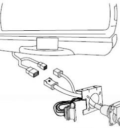 replacement multi plug 7 way and 4 pole trailer connector tekonsha custom fit vehicle wiring 20137 [ 1000 x 869 Pixel ]