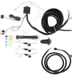 tekonsha oem replacement vehicle wiring harness w brake controller adapter 7 way trailer connector 7 [ 1000 x 836 Pixel ]