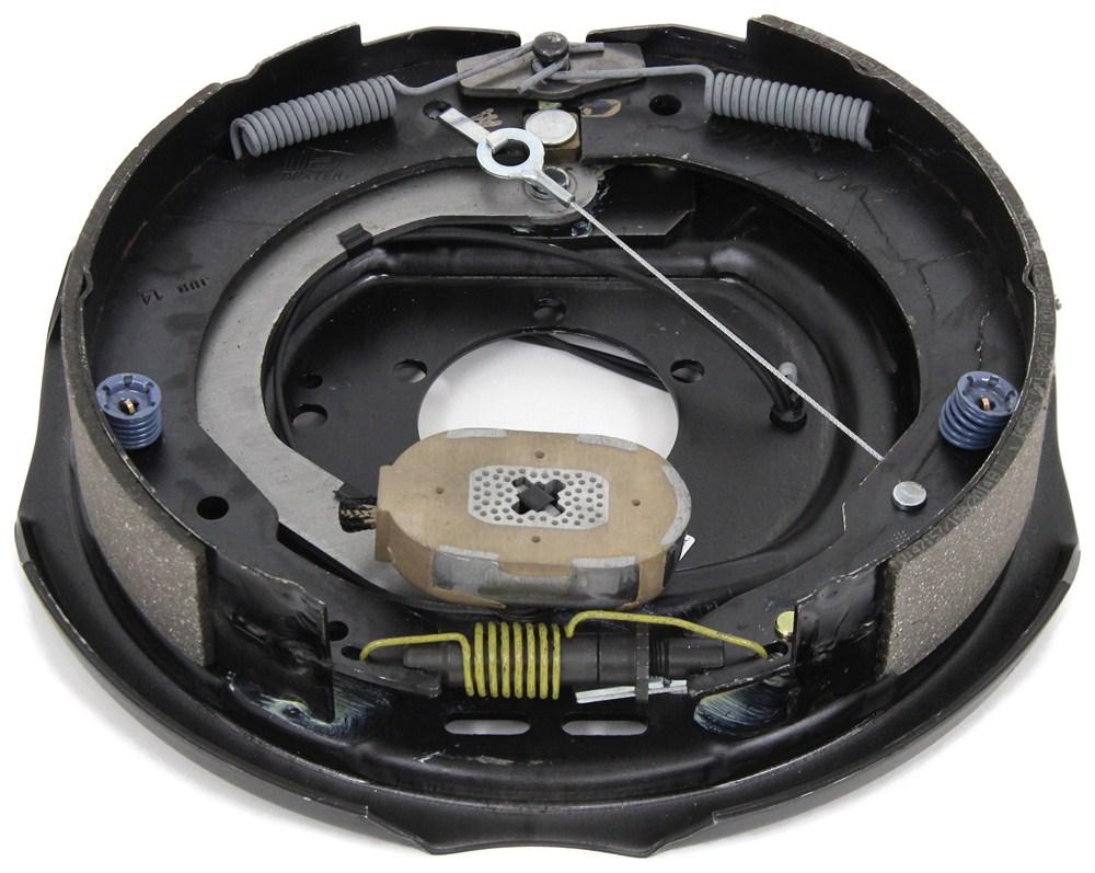 medium resolution of 12 quot nev r adjust electric brake assembly left hand dexter axle brake actuator wiring diagram dexter axle electric brake wiring diagram