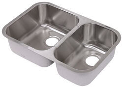 rv kitchen sink full set sinks etrailer com