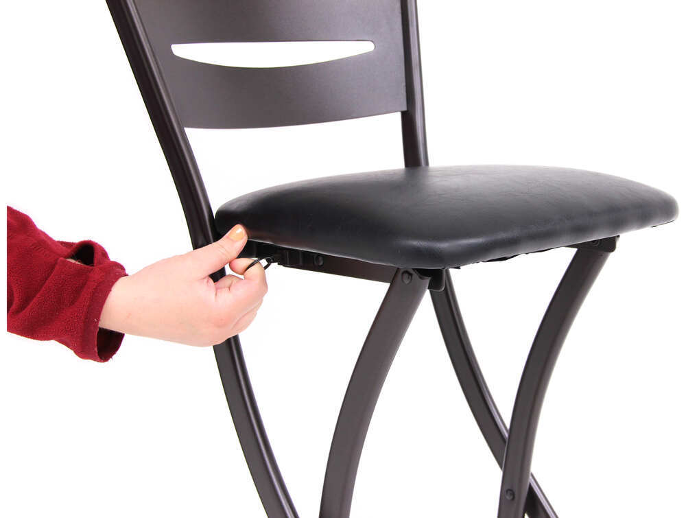 Enjoyable Bar Height Folding Chairs Chair Design Ideas Onthecornerstone Fun Painted Chair Ideas Images Onthecornerstoneorg
