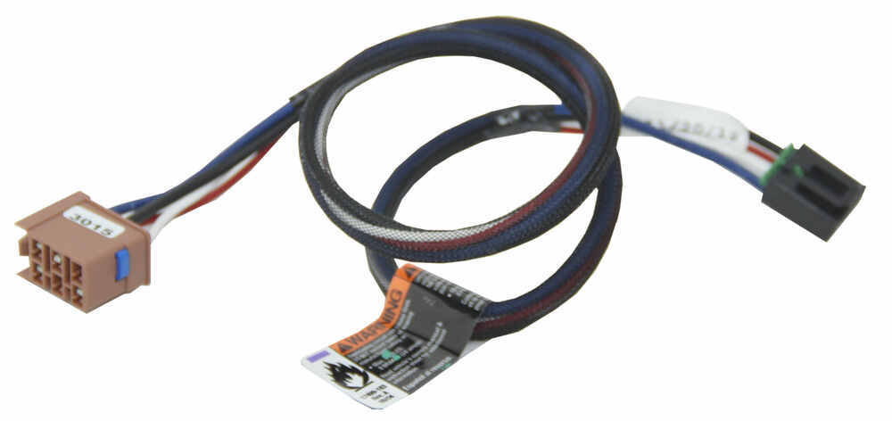 tekonsha voyager specs diesel engine starter diagram plug in wiring adapter for electric brake controllers gm accessories and parts 3015 p