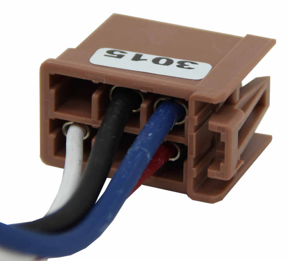 hight resolution of tekonsha plug in wiring adapter for electric brake controllers gm tekonsha accessories and parts 3015 p