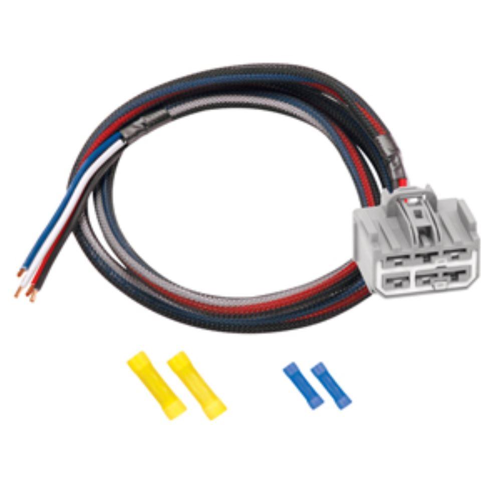 hight resolution of tekonsha custom wiring adapter for trailer brake silverado trailer wiring adapter