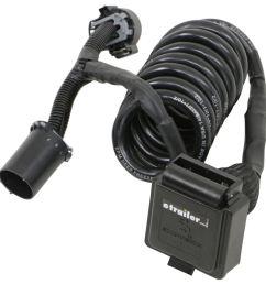 ez connector magnetic 5th wheel gooseneck custom wiring harness w 7 way connector watertight seal ez connector custom fit vehicle wiring 319 s7 09 [ 985 x 1000 Pixel ]