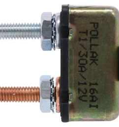 in line circuit breaker perpendicular mount bracket pollak accessories and parts 38630 [ 1000 x 907 Pixel ]