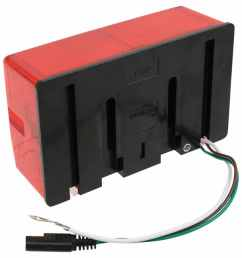wesbar tail light for trailers over 80 wide submersible 7 function passenger side wesbar trailer lights 403075 [ 957 x 1000 Pixel ]