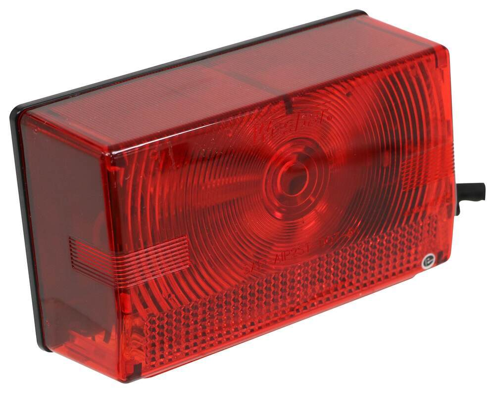hight resolution of wesbar tail light for trailers over 80 wide submersible 7 function passenger side wesbar trailer lights 403075