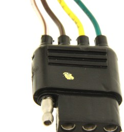 hopkins plug in simple vehicle wiring harness with 4 pole flat hopkinsr 41125 cadillac escalade 1999 towing wiring harness [ 1000 x 816 Pixel ]