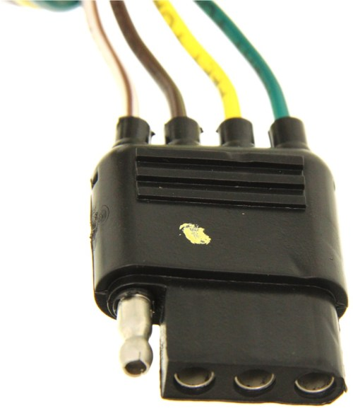 small resolution of hopkins plug in simple vehicle wiring harness with 4 pole flat hopkinsr 41125 cadillac escalade 1999 towing wiring harness