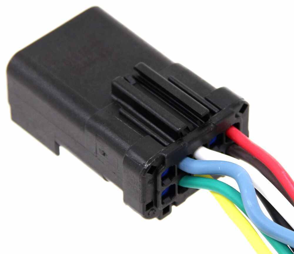 hight resolution of 7 way 4 way replacement connector for dodge oem style plugs hopkins custom fit vehicle wiring 42145