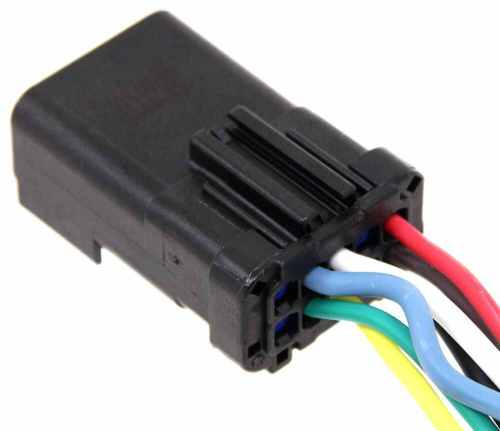 small resolution of 7 way 4 way replacement connector for dodge oem style plugs hopkins custom fit vehicle wiring 42145