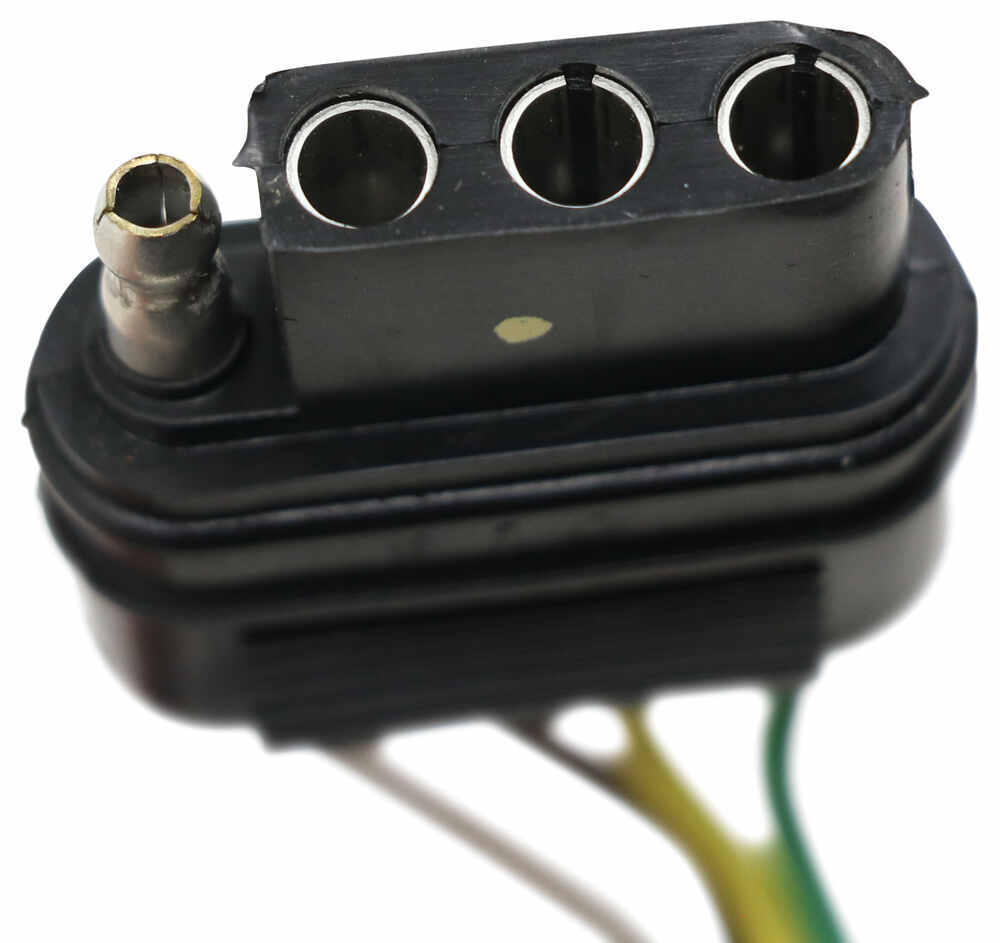 hight resolution of hopkins plug in simple vehicle wiring harness with 4 pole flat trailer connector converter