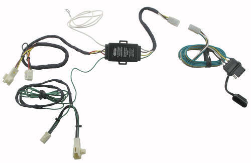 Plug-N-Tow (R) Vehicle Wiring Harness Hopkins Custom Fit