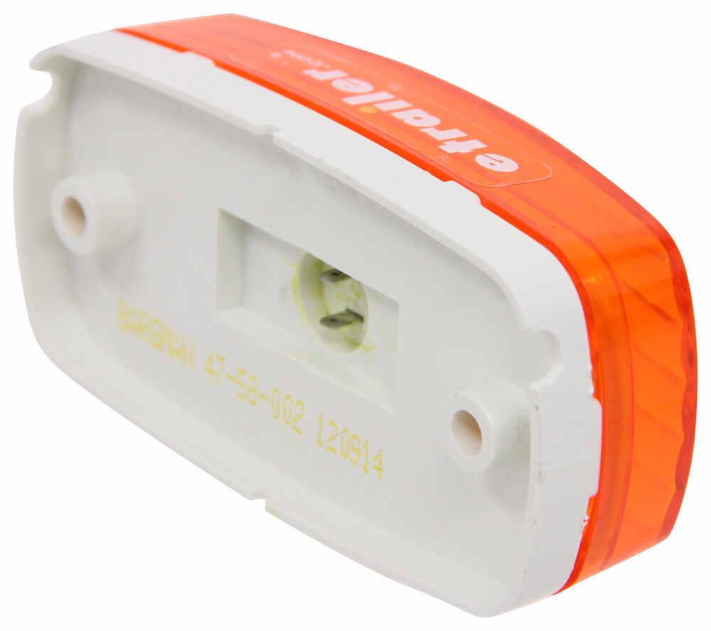 hight resolution of bargman led trailer clearance or side marker light 4 diodes rectangle amber lens bargman trailer lights 47 58 032