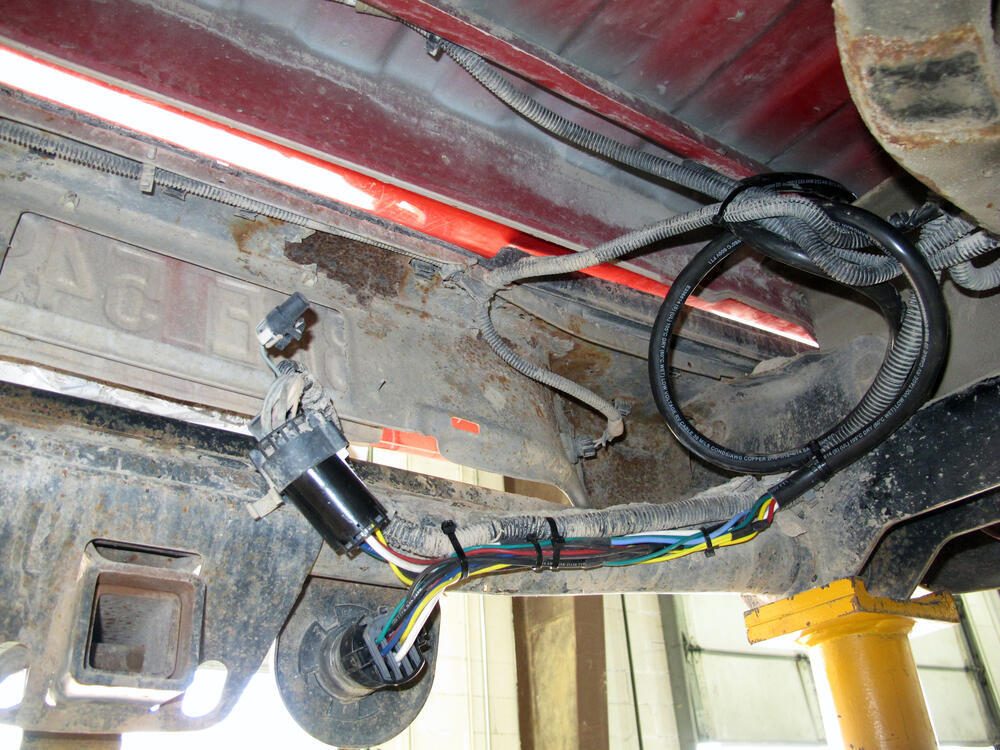 Trailer Wiring Harness On Chevrolet Silverado Trailer Wiring Harness