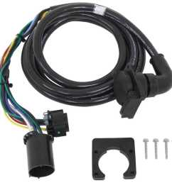 5th wheel gooseneck 90 degree wiring harness w 7 pole plug  [ 1000 x 987 Pixel ]