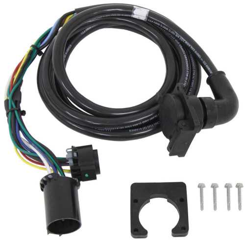 small resolution of 5th wheel gooseneck 90 degree wiring harness w 7 pole plug