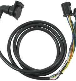 5th wheel gooseneck 90 degree wiring harness w 7 pole plug  [ 1000 x 873 Pixel ]