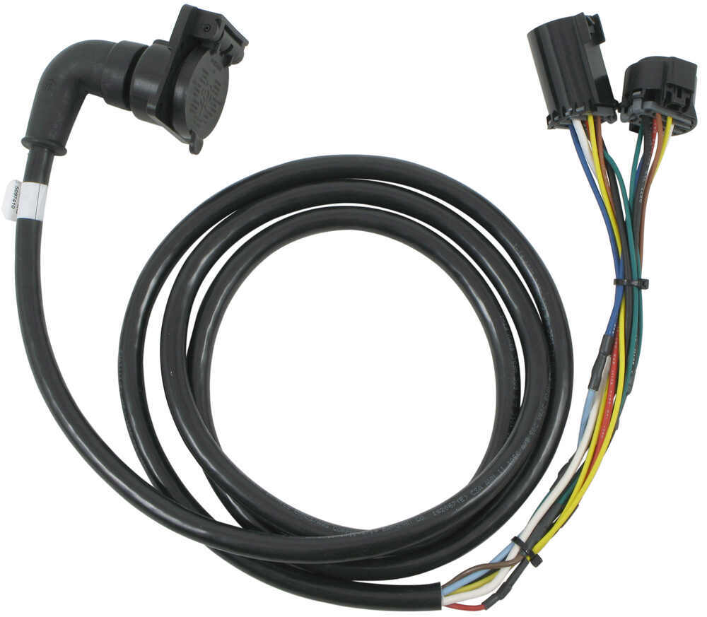 medium resolution of 5th wheel gooseneck 90 degree wiring harness w 7 pole plug