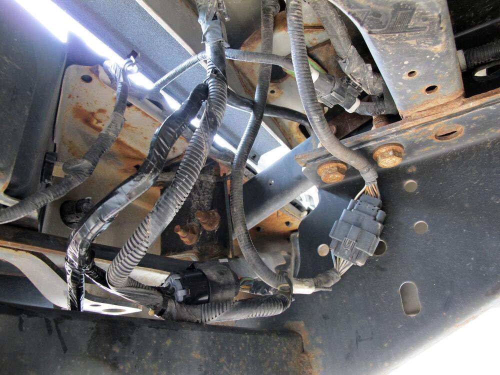 For 2013 Chevrolet Silverado 4 Bargman Custom Fit Vehicle Wiring 54701