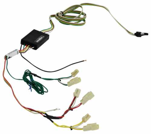 small resolution of 55057 powered converter curt trailer hitch wiring
