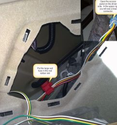 2014 acura rdx curt t connector vehicle wiring harness trailer wiring harness 6 wire 6 way trailer wiring [ 1000 x 842 Pixel ]