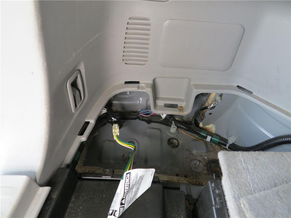 Toyota Sienna Trailer Wiring On 2008 Toyota Sienna Trailer Wiring