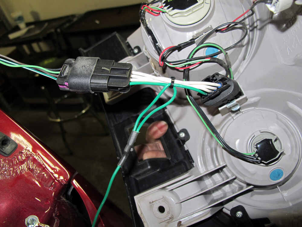 2005 Chevrolet Equinox Trailer Wiring Harness