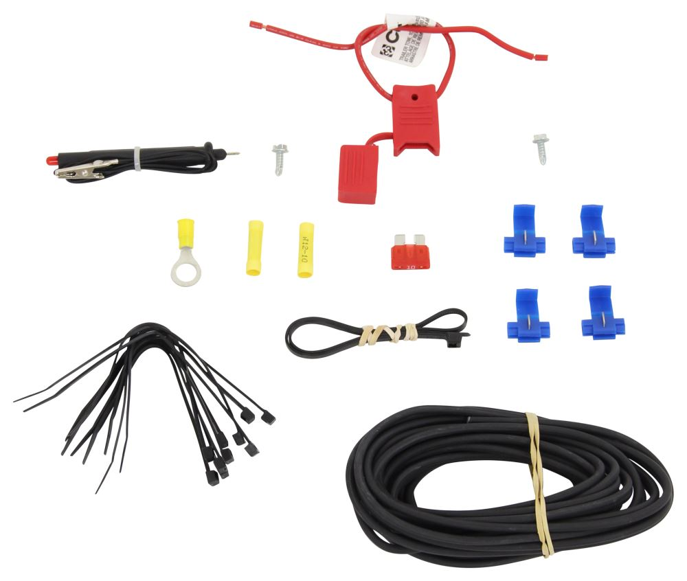 hight resolution of wiring 56146kit 4 flat curt