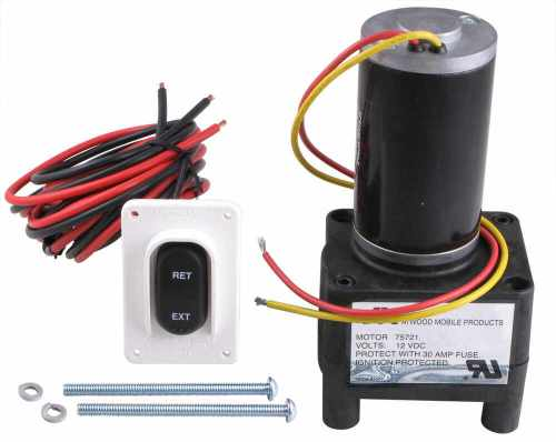 small resolution of electric motor for rv landing gear 75333