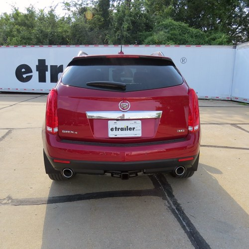 small resolution of 2015 cadillac srx draw tite max frame trailer hitch receiver custom fit class iii 2