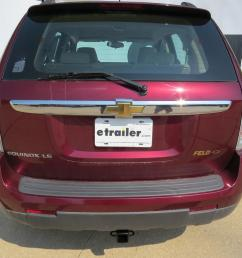 2008 chevrolet equinox draw tite max frame trailer hitch receiver custom fit class iii 2  [ 1000 x 835 Pixel ]
