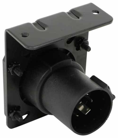 small resolution of reese replacement 7 way rv style trailer connector for factory tow package plug only