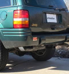 hidden hitch trailer hitch receiver custom fit class iii 2 7500 lbs [ 1000 x 871 Pixel ]