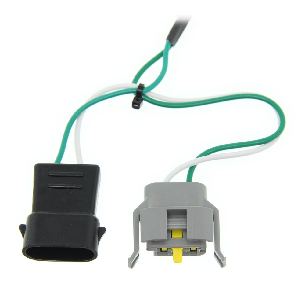 hight resolution of 1998 ford explorer curt t connector vehicle wiring harness for ford contour