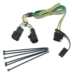 curt t connector vehicle wiring harness with 4 pole flat featherlite trailer wiring harness landscape trailer [ 1000 x 937 Pixel ]