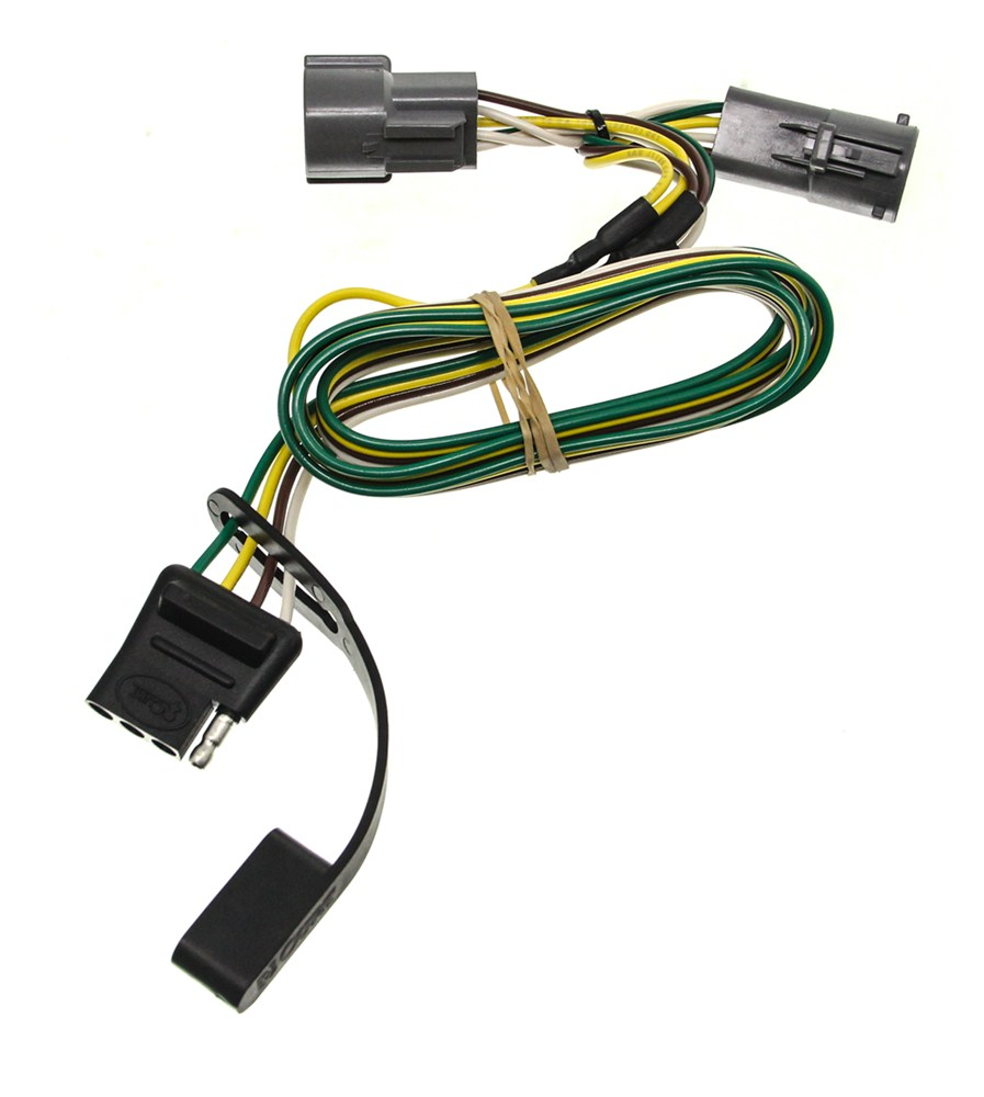 hight resolution of 2004 ford f 250 and f 350 super duty custom fit vehicle 4 prong trailer wiring diagram 7 pin trailer wiring harness