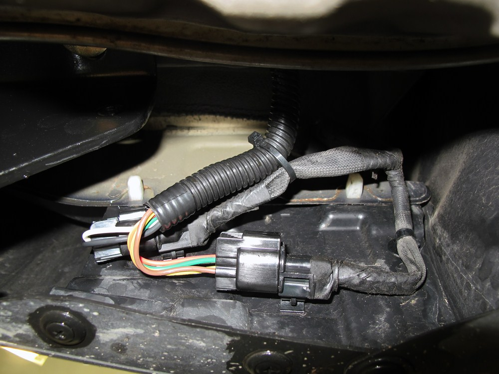 Connector Vehicle Wiring Harness With 5pole Flat Trailer Connector